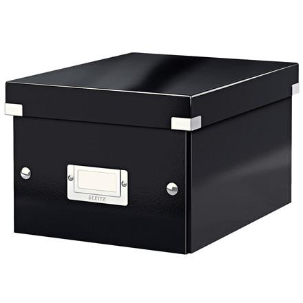 Arkivboks Leitz Click & Store 22 x 16 x 28,2 cm - Sort