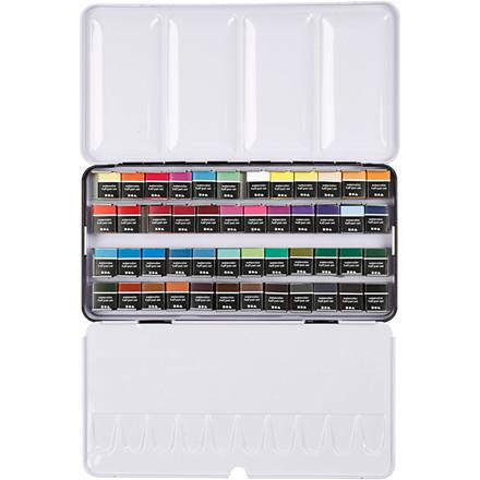 Art Aqua akvarelfarver, ass. farver, 48frv.