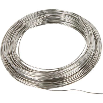 Artistic wire 24, tykkelse 0,5 mm, sølv, 18m