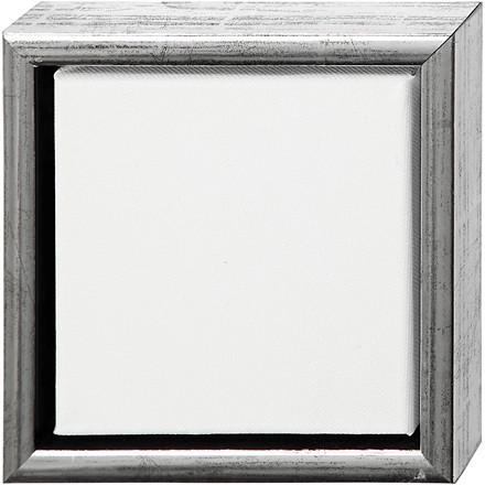 ArtistLine Canvas med ramme, udv. mål 19x19 cm, dybde 3 cm, Lærred str. 15x15 cm, 6stk.