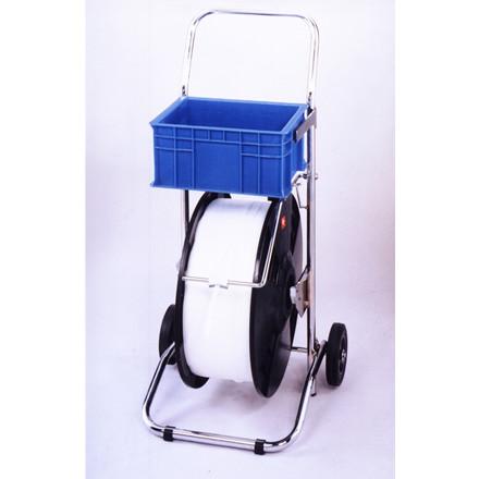 Båndvogn til plastbånd - med en kerne på 200 og 280 mm