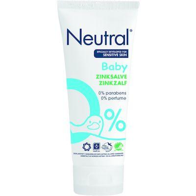 Baby zinksalve Neutral uden parfume og parabener - 100 ml