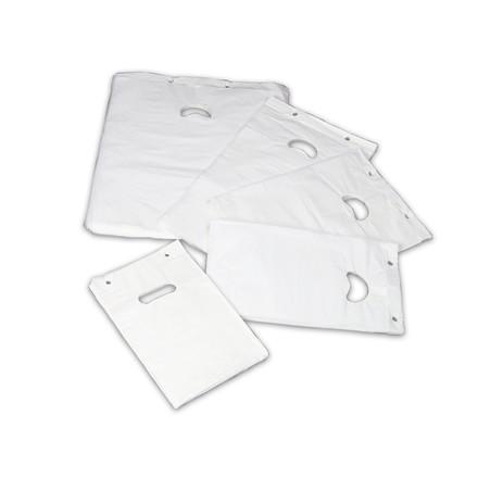 Bærepose blok i hvid HDPE - P3 18 my 245 x 320 mm 2000 stk
