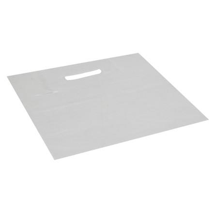 Bærepose, LDPE, transparent, 50 my, 30x30 cm, 6 l,