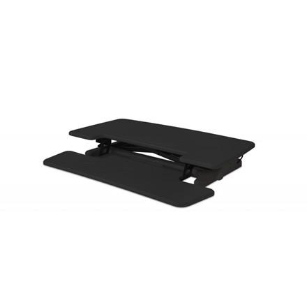 BakkerElkhuizen Adjustable Sit-Stand Desk Riser 2, Black