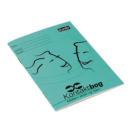Bantex Kontaktbog A6 32 sider - Mellem skole og hjem - 25 stk