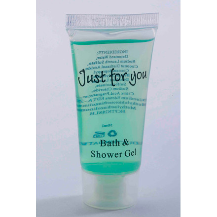 Bath & shower Gel 20 ml Tube 100stk/kar Just for you