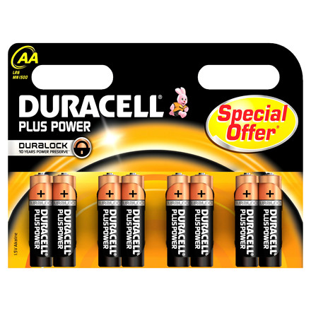 Batteri Duracell AA Plus Power - LR 6 MN 1500