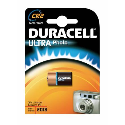 Batteri Duracell Ultra Photo CR2 1stk/pak