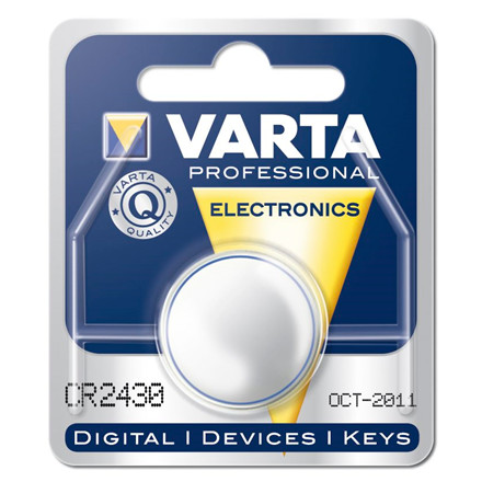 Batteri Electronic Varta 3V - CR2430 280 mAh