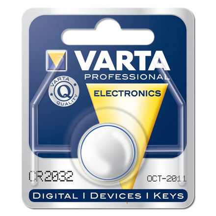 Batteri Electronic Varta CR2032 3V 230mAh