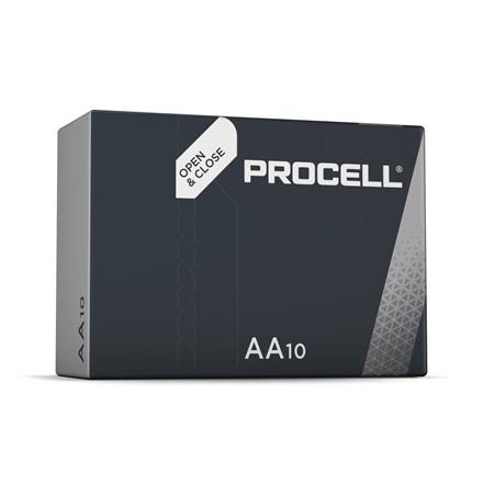 Batteri Procell Industrial AA 10stk