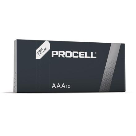 Batteri Procell Industrial AAA 10stk
