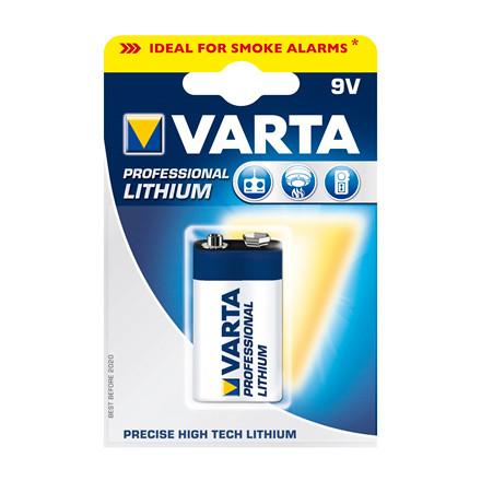 Varta batteri Lithium 9V - 1 stk pr. pak
