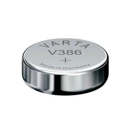 Batteri Varta ur - V386 SR43 1,55V 105 mAh 1 stk. i pk