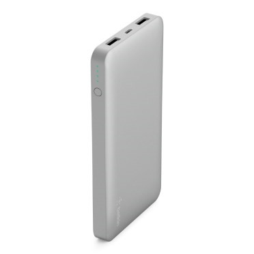 Belkin Pocket Power 10K Power Bank, Silver