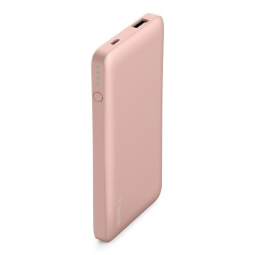 Belkin Pocket Power 5K Power Bank, Rose Gold