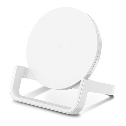 Belkin Trådløs Oplader - BOOST UP Universal Wireless Charging Stand 10W - Hvid