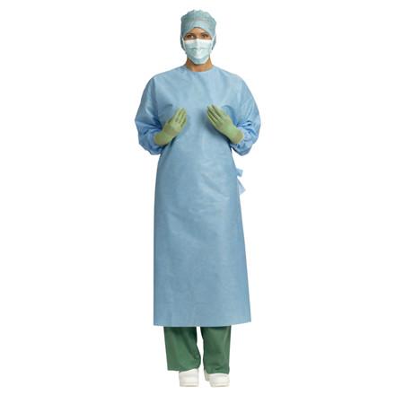 Beskyttelseskittel, Barrier, operationskittel Primary, standard, steril, blå, x-large (længde 126cm)
