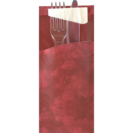 Bestikpose Sacchetto med libra kniv-gaffel-serviet - 150 stk