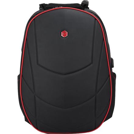 Bestlife 17'' BestLife Gaming Backpack Assailant, Black/Red