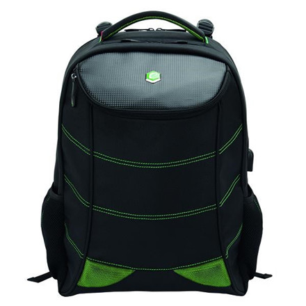 Bestlife 17'' BestLife Gaming Backpack Snake Eye, Black/Green