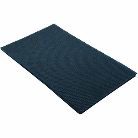 Bivoksplade 20 x 33 cm tykkelse 2 mm   Blå