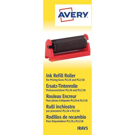 Blækpatroner IRAV5 - til Avery Prispistol PL1 8 og PL 2 18