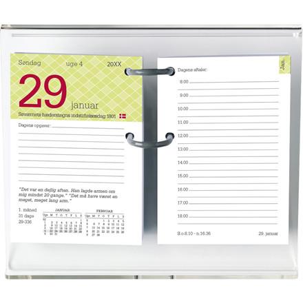 Blokkalender Mayland 2019 Humor REFILL med huller 8 x 11,5 cm eksklusiv stativ - 19 1420 00