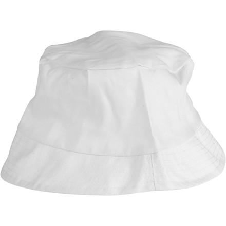 Bøllehat størrelse 54 cm | hvid