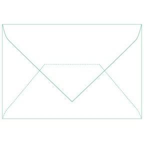 Bong card envelope 78x115 w/o wind 80g (500)