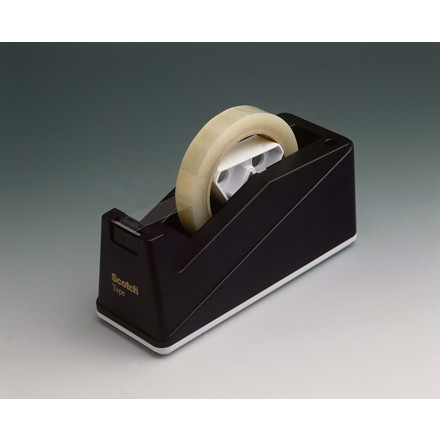 Borddispenser til Scotch kontortape C10 - sort