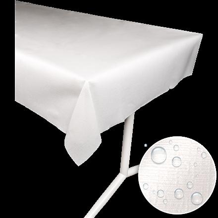 Borddug evolin hvid 127 x 220 cm - 25 stk.