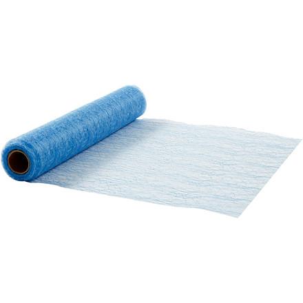 Bordløber, B: 30 cm, lys blå, net, 10m