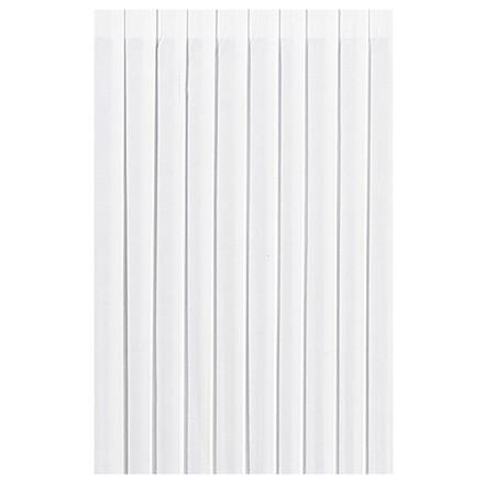 Bordskørt Dunicel Duni hvid 72 cm x 4 meter - 009043 - 5 stk.