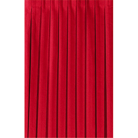 Bordskørt Dunicel rød 72 cm x 4 meter - 9023 - 5 stk.