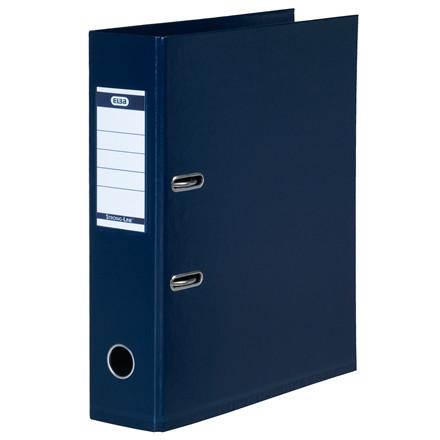 ELBA Strongline A4 brevordner med 80 mm ryg - Mørkeblå