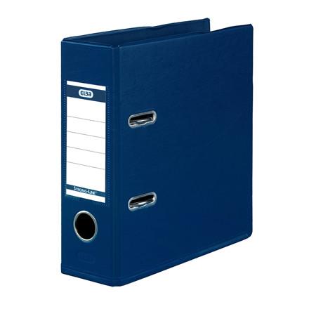 A5 brevordner ELBA Strongline blå 1452-01 - 70 mm ryg