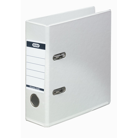 A5 brevordner ELBA Strongline hvid 1452-07 - 70 mm ryg
