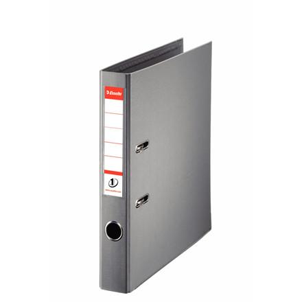 Brevordner Esselte No. 1 A4 grå med 50 mm ryg - 811480