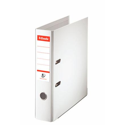Esselte No 1 brevordner A4 med 75 mm ryg 811300 - Hvid