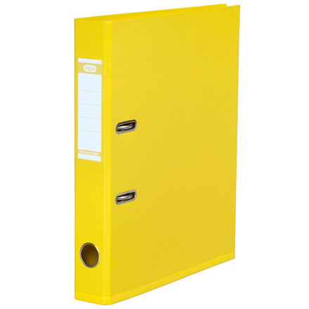 Brevordner PP gul A4-smal Bantex miljø 1415-23