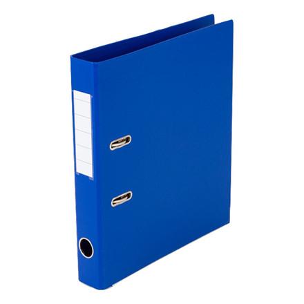 Brevordner - Q-Line A4 blå 50 mm ryg