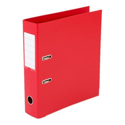 Brevordnere - Q-Line A4 rød 75 mm bred ryg