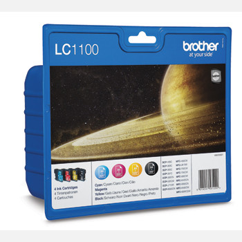 Brother LC1100V ink cartridge value blister