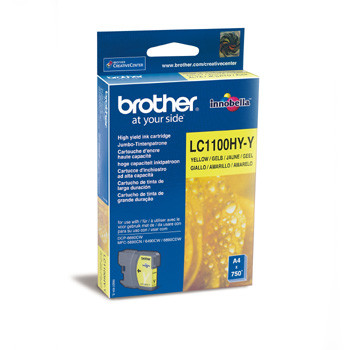 Brother LC1100Y ink cartridge HC yellow