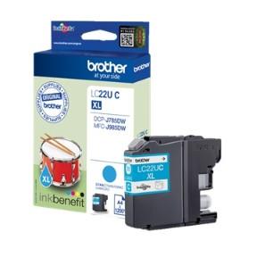Brother LC22UC ink cartridge cyan