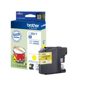 Brother LC22UY ink cartridge yellow