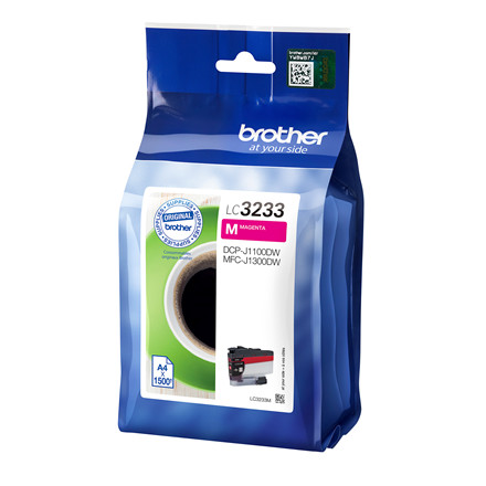 Brother LC3233 ink cartridge Magenta 1.5K