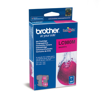 Brother LC980M ink cartridge magenta 260 pages
